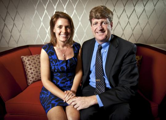 Amy and Patrick Kennedy